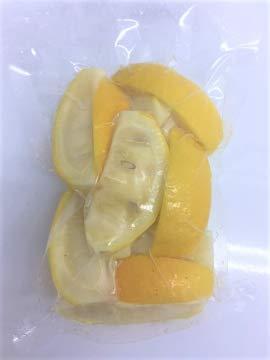 国産冷凍レモン 1/8カット (国産 徳島産) 250g 【消費税込み】今の時期は、青レモンになります。