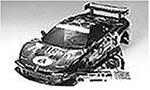 R/C SPARE PARTS SP-776 avex童夢無限NSX スペアボディ