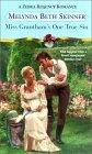 Miss Grantham's One True Sin (Zebra Regency Romance)