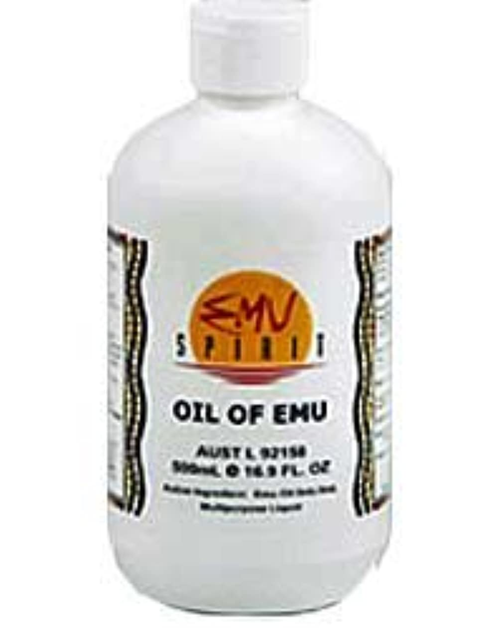 カラスマンモスマグ[EMU OIL] 100%ピュア エミューオイル 500ml [海外直送品]