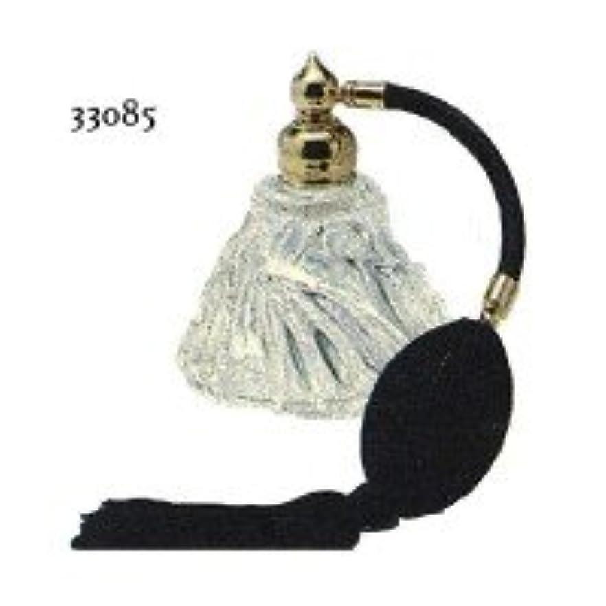 に向かって規則性コミュニケーションドイツ製クリスタル香水瓶リードクリスタル ふさ付