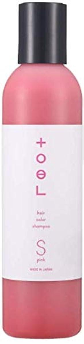 時刻表空品トエル (toeL) インターコスメ(InterCosme) トエル(toel) カラーシャンプー 240ml ピンク