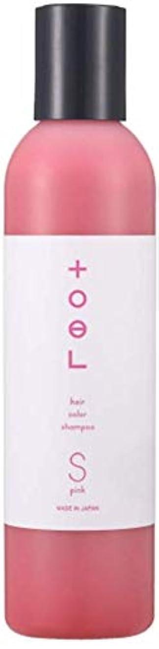 採用幾分ニッケルトエル (toeL) インターコスメ(InterCosme) トエル(toel) カラーシャンプー 240ml ピンク