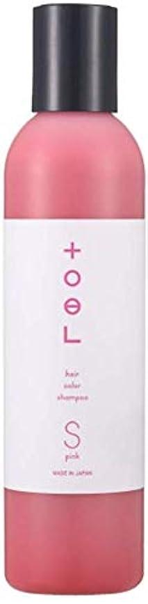 徒歩で悩み定数トエル (toeL) インターコスメ(InterCosme) トエル(toel) カラーシャンプー 240ml ピンク