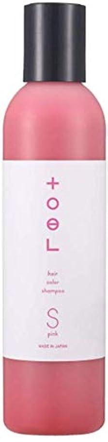 トリクルゲージ酔うトエル (toeL) インターコスメ(InterCosme) トエル(toel) カラーシャンプー 240ml ピンク