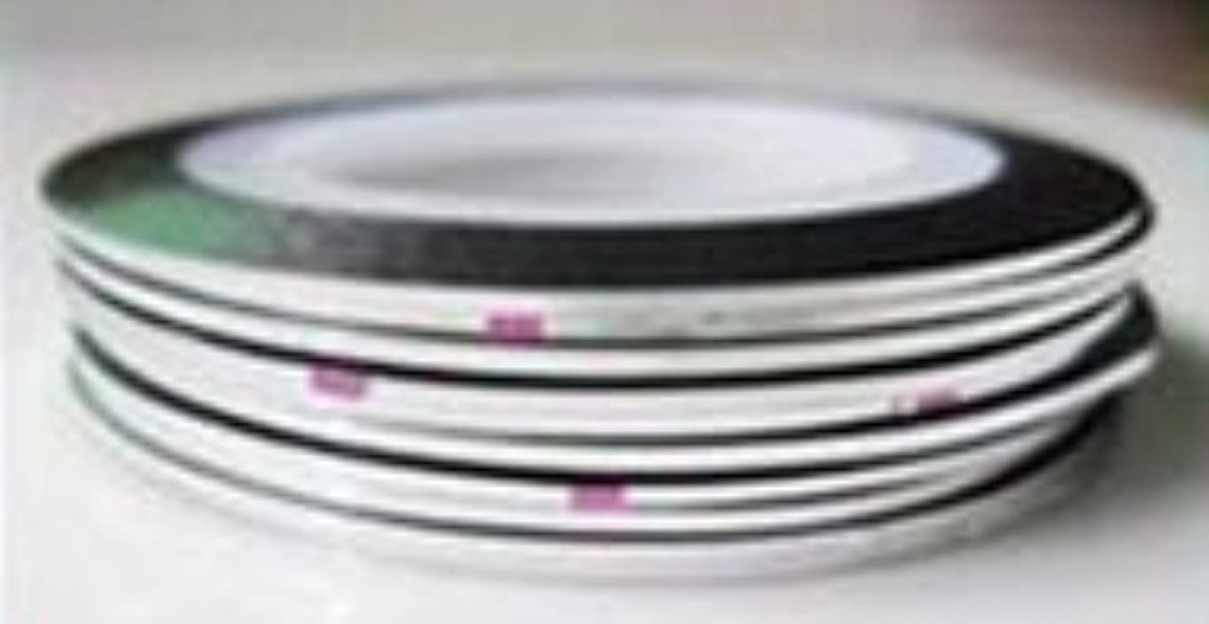 一時停止分離する赤ラインテープ(2 シルバー)