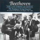 Beethoven: The Late String Quartets, Budapest String Quartet in Concert at The Library of Congress (1997-02-18)