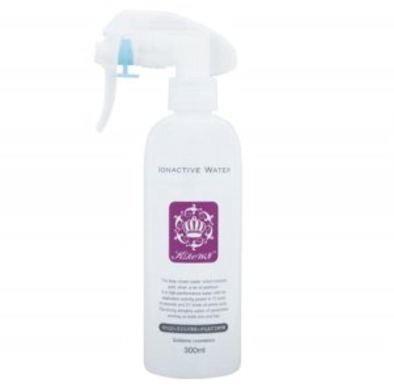 クラウン イオナクティブウォーター 髪と顔を含むお肌にご使用 アミノ酸 ミネラルで保湿 水分保持 金 銀 プラチナ 配合のウォーター