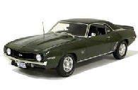 1/18scale ハイウェイ61 HIGHWAY61 1969 Baldwin Motion Chevrolet Camaro Fathom Green ボールドウイン モーション シボレー カマロ