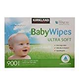 KIRKLAND TENCEL Baby Wipes ULTRA SOFT カークランド ベビーワイプ おしりふき 無香料 900枚