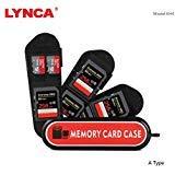 LYNCA ミニメモリーカード収納ケース - スイスアーミーナイフの外観 7 スロット 5 SDカード用 + 2 TFカード 6TF+3SIM+1SD+1TF Reader Slot KH4