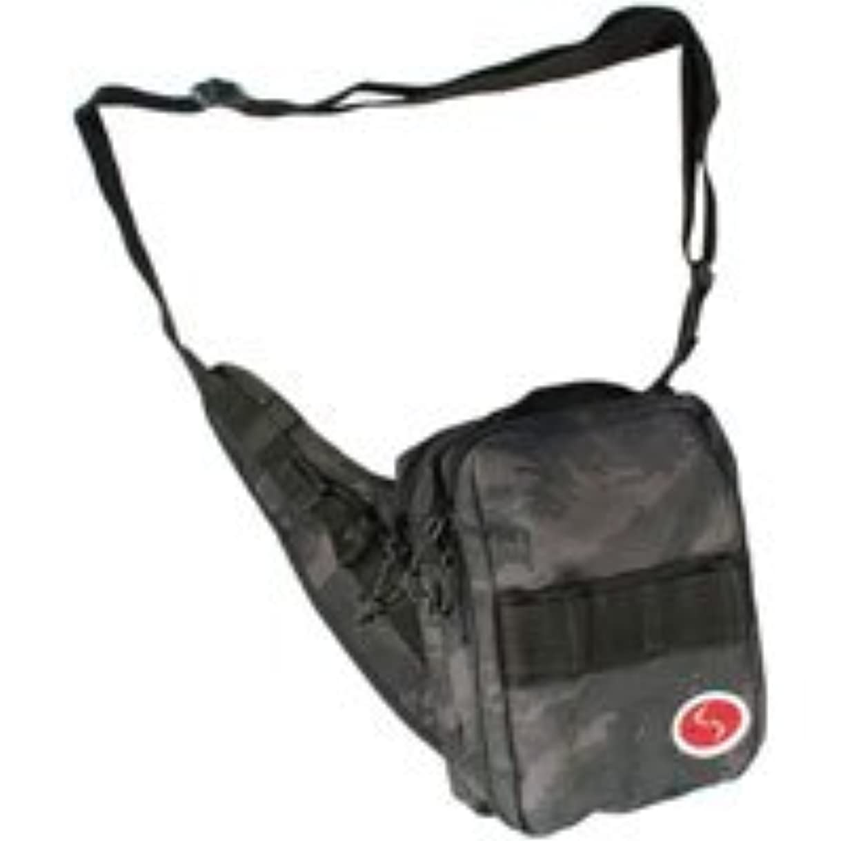 サスペンド豊富ブランドLSD サイドショット/ブラックカモ バッグ