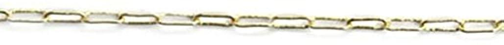 国内の二十正規化プリティーネイル ネイルアートパーツ クリップチェーンSS ゴールド 1m 1個