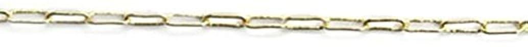 生まれモナリザ十分プリティーネイル ネイルアートパーツ クリップチェーンSS ゴールド 1m 1個