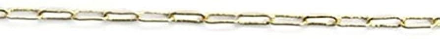 飛び込む弁護人発信プリティーネイル ネイルアートパーツ クリップチェーンSS ゴールド 1m 1個
