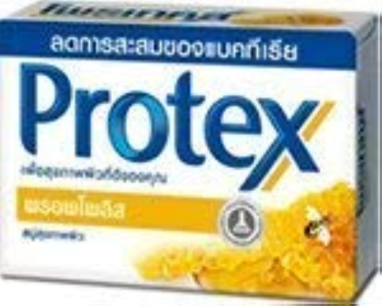 マカダム多くの危険がある状況教育するProtex, Bar Soap, Propolis, 75 g x 4 by Ni Yom Thai shop