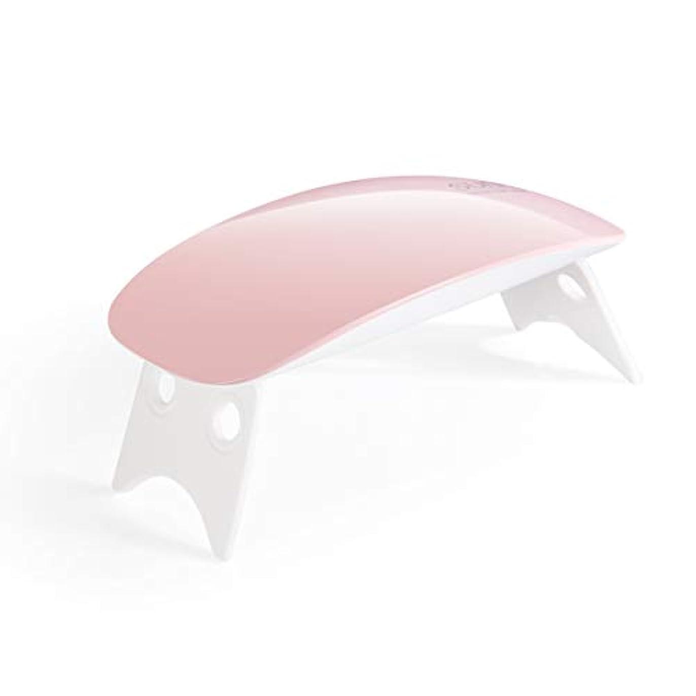瞑想的カスタムデンプシーDavine 小型LED光線療法機械USBの釘乾燥の紫外線ベーキングランプ