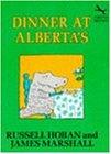 Dinner At Alberta's (Red Fox Books)