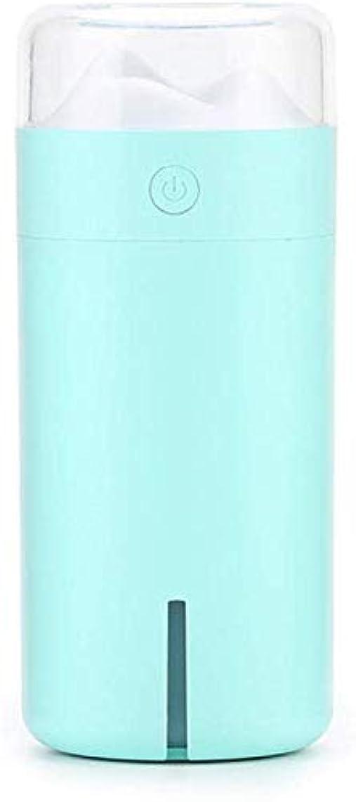 用心残忍なランダムSOTCE アロマディフューザー加湿器超音波霧化技術が内蔵水位センサー快適な雰囲気満足のいく解決策 (Color : Blue)