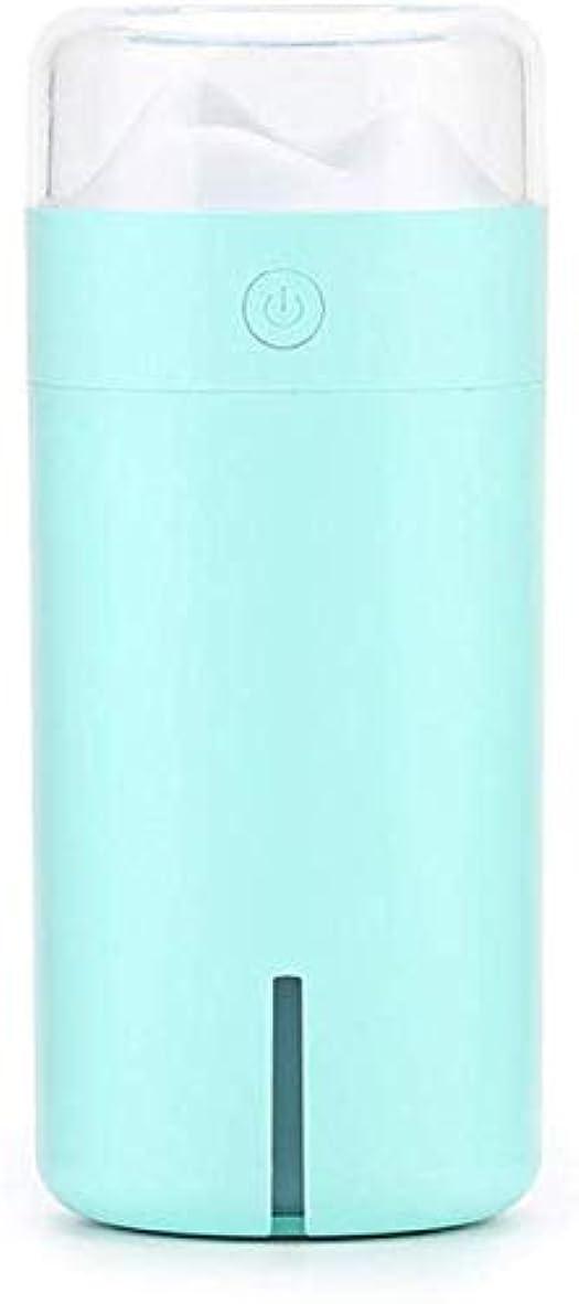以降処方するおびえたSOTCE アロマディフューザー加湿器超音波霧化技術が内蔵水位センサー快適な雰囲気満足のいく解決策 (Color : Blue)