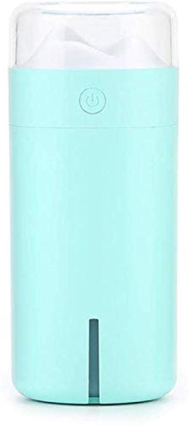 どこかハント浮くSOTCE アロマディフューザー加湿器超音波霧化技術が内蔵水位センサー快適な雰囲気満足のいく解決策 (Color : Blue)