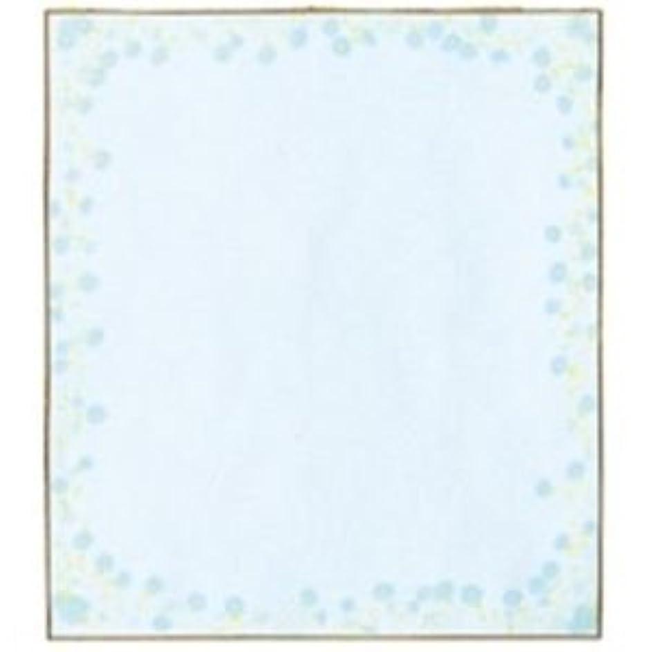 前置詞ファイアル最も(業務用20セット)ミドリ 色紙 33123006 小花柄ブルー