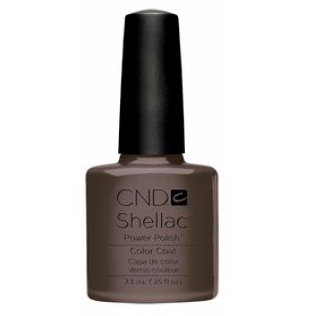 ★CND シェラック UVカラーコート 7.3ml<BR>534 ブラウン