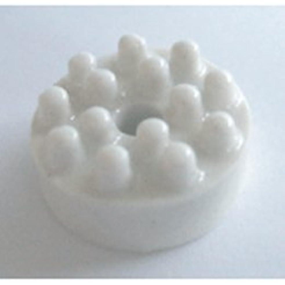 に渡って舗装するラッチカリス成城 香立て 陶器ホワイト