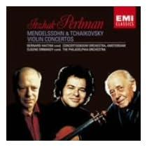 メンデルスゾーン:ヴァイオリン協奏曲、チャイコフスキー:ヴァイオリン協奏曲