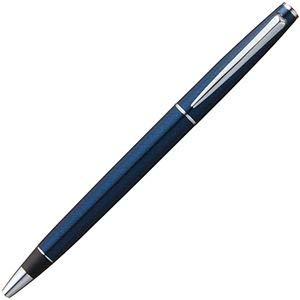 (まとめ) 三菱鉛筆 ジェットストリーム プライム回転繰り出し式シングルボールペン 0.5mm 黒 (軸色:ダークネイビー) SXK300005D.9 1本 【×2セット】 〈簡易梱包