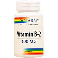 ビタミンB2 100mg 100粒[海外直送品]