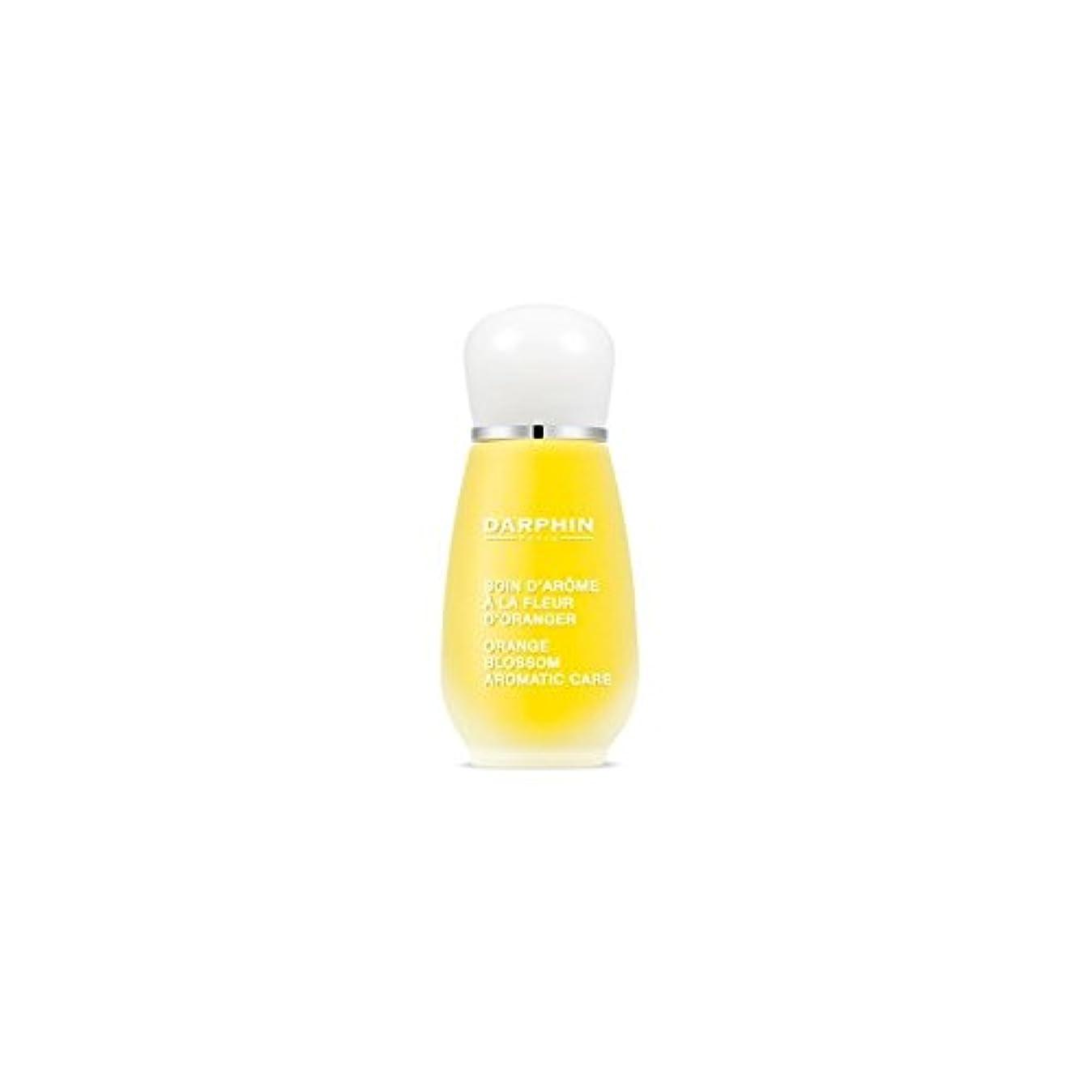 とまり木存在する表面Darphin Orange Blossom Aromatic Care (15ml) (Pack of 6) - ダルファンオレンジの花の芳香ケア(15ミリリットル) x6 [並行輸入品]