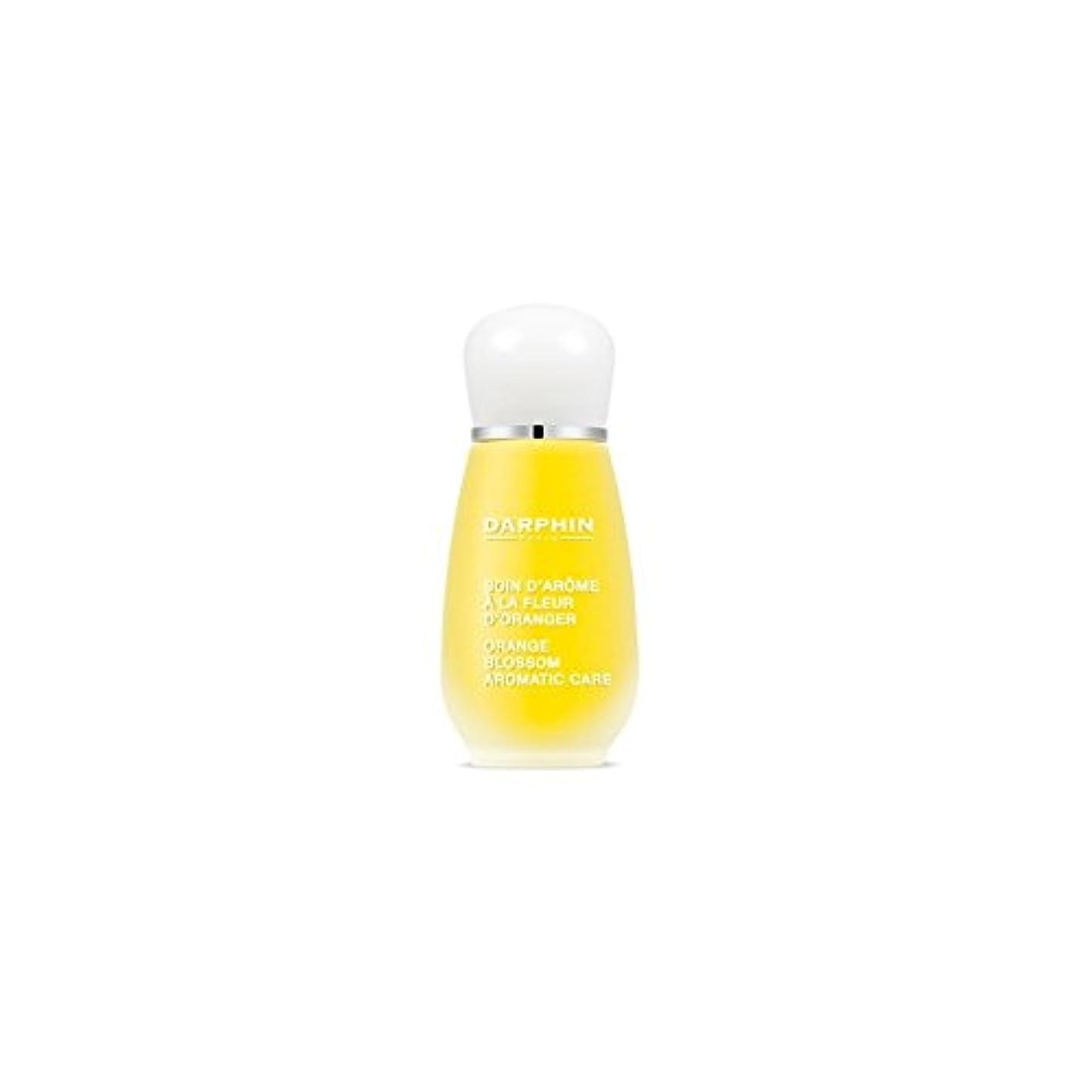 スペア尋ねる拒絶するDarphin Orange Blossom Aromatic Care (15ml) - ダルファンオレンジの花の芳香ケア(15ミリリットル) [並行輸入品]
