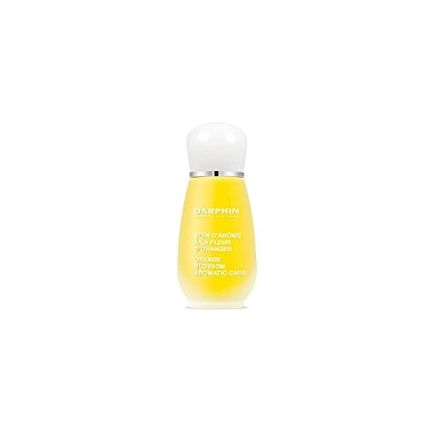 反抗縞模様の平方Darphin Orange Blossom Aromatic Care (15ml) (Pack of 6) - ダルファンオレンジの花の芳香ケア(15ミリリットル) x6 [並行輸入品]