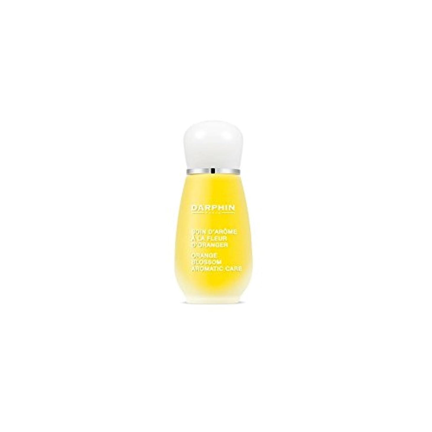 時間厳守咽頭アトミックDarphin Orange Blossom Aromatic Care (15ml) - ダルファンオレンジの花の芳香ケア(15ミリリットル) [並行輸入品]