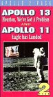 Apollo 13 & Apollo 11 [VHS] [Import]
