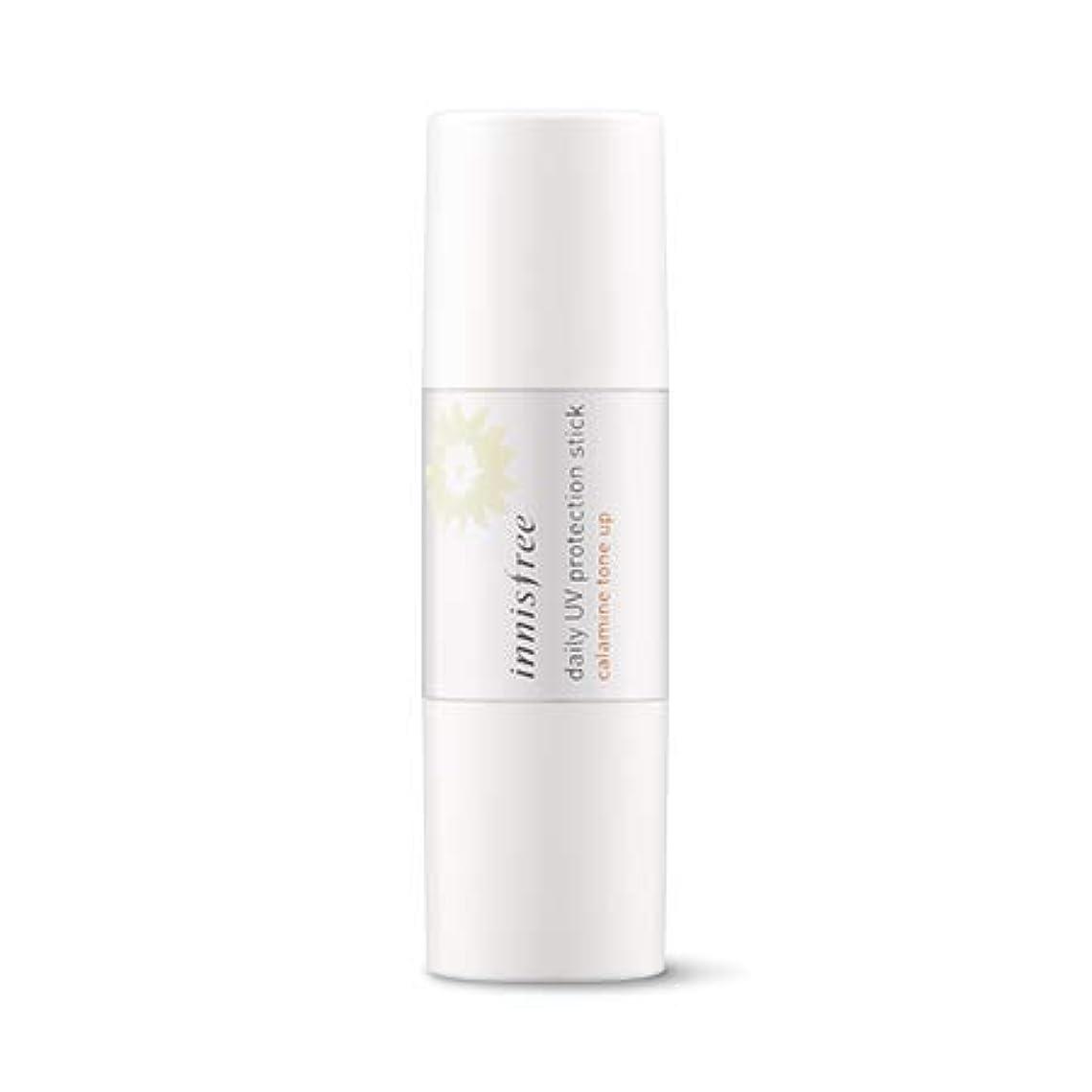 若さうそつきワーカー【innisfree】デイリーUVプロテクションスティックカラミントンオプSPF50+ PA++++8g+線クレンジングティッシュ(20枚)/ Daily UV Protection Stick Calamine Tone up SPF50+ PA+++++ sun cleansing tissue(20sheet)