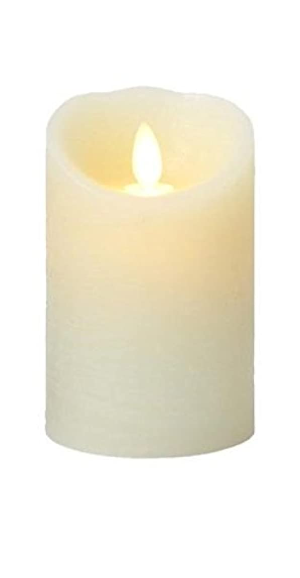 その間筋木製癒しの香りが素敵な間接照明! LUMINARA ルミナラ ピラー3×4 ラスティク B0320-00-10 IV?オーシャンブリーズ