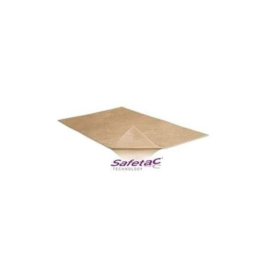 冷ややかなチョップすばらしいですMolnlyckemolnlycke Mepiform Self-Adherent Silicone Dressing 4 X 7, Single Sheet by Molnlycke