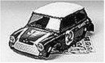 R/C SPARE PARTS SP-795 ミニクーパー レーシング スペアボディ