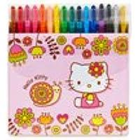 Sanrio Hello Kitty 16カラーツイストクレヨンセット: Snail