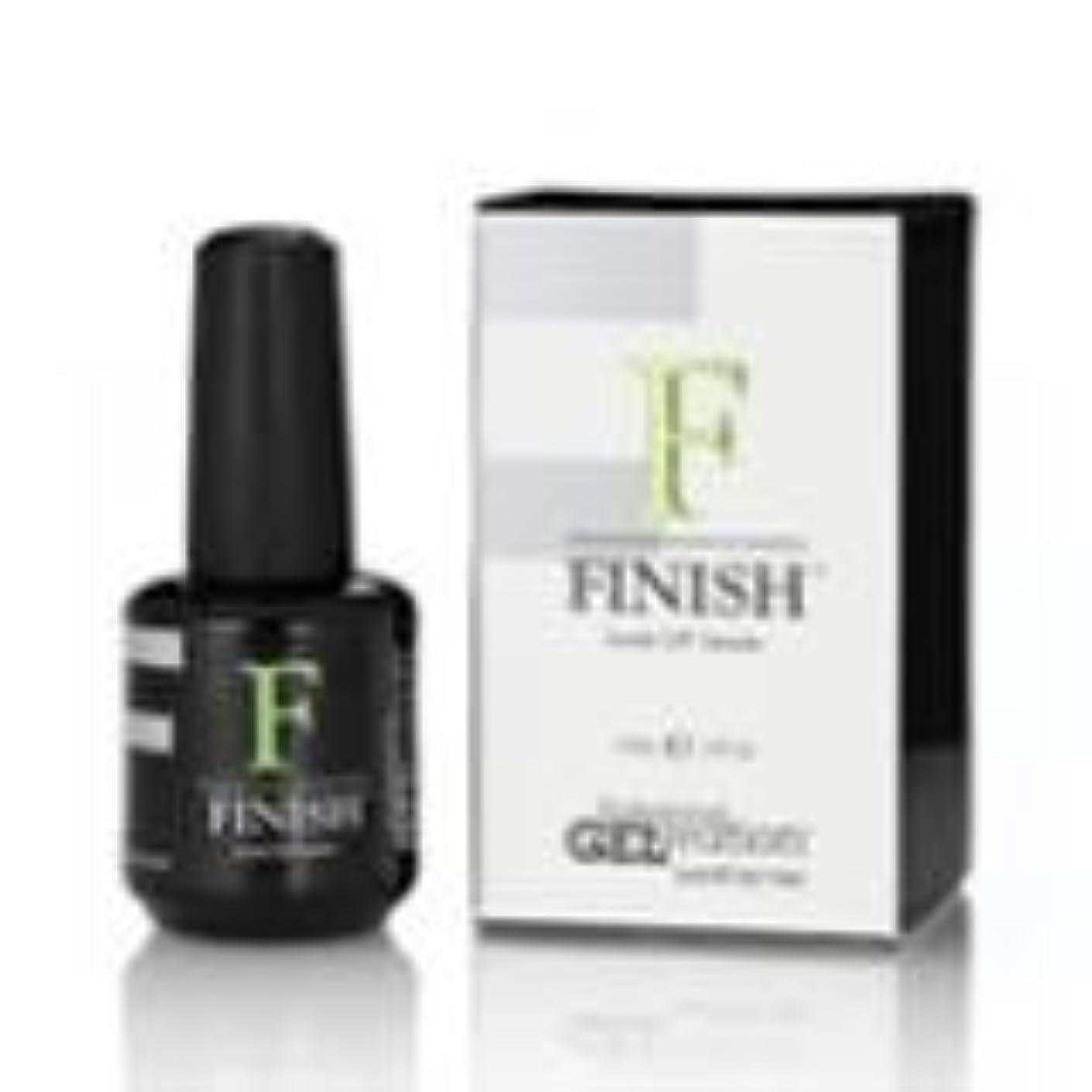 医薬品カウボーイ留め金GELeration FINISH Soak-Off Sealer トップジェル
