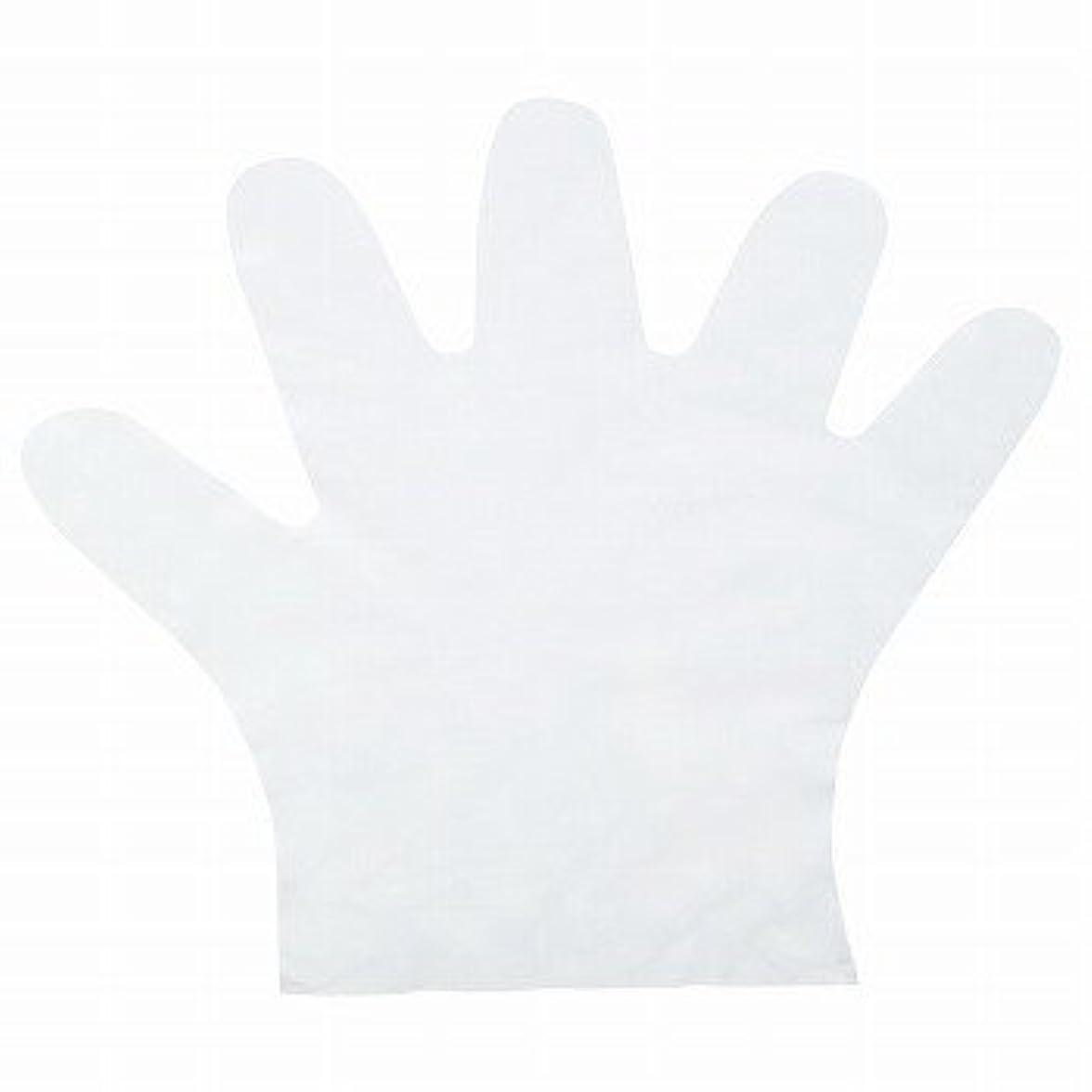 教育する整然とした明るいおたふく手袋/ポリエチディスポ(LD) [100枚入]/品番:248 サイズ:S