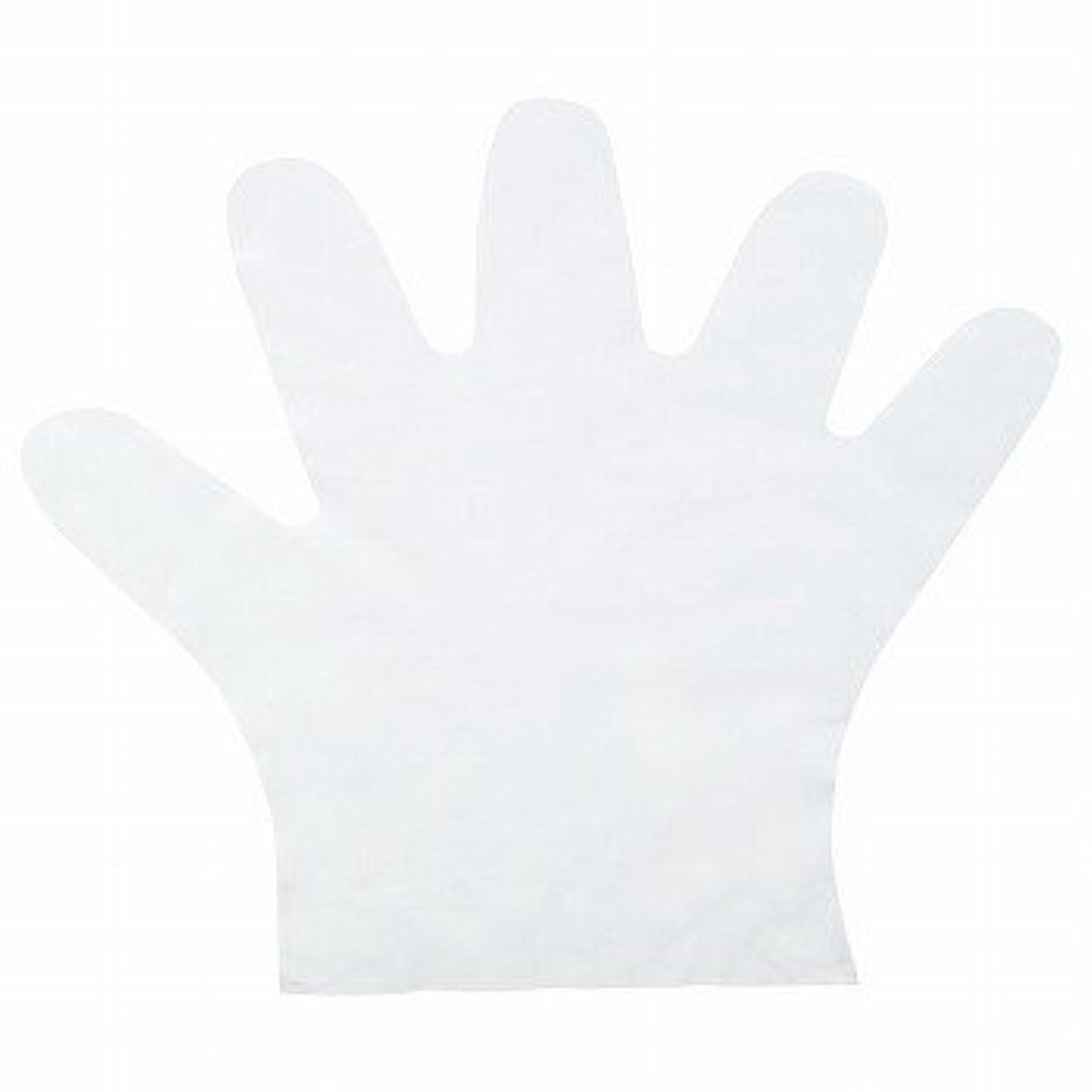 横ワックスクックおたふく手袋/ポリエチディスポ(LD) [100枚入]/品番:248 サイズ:M