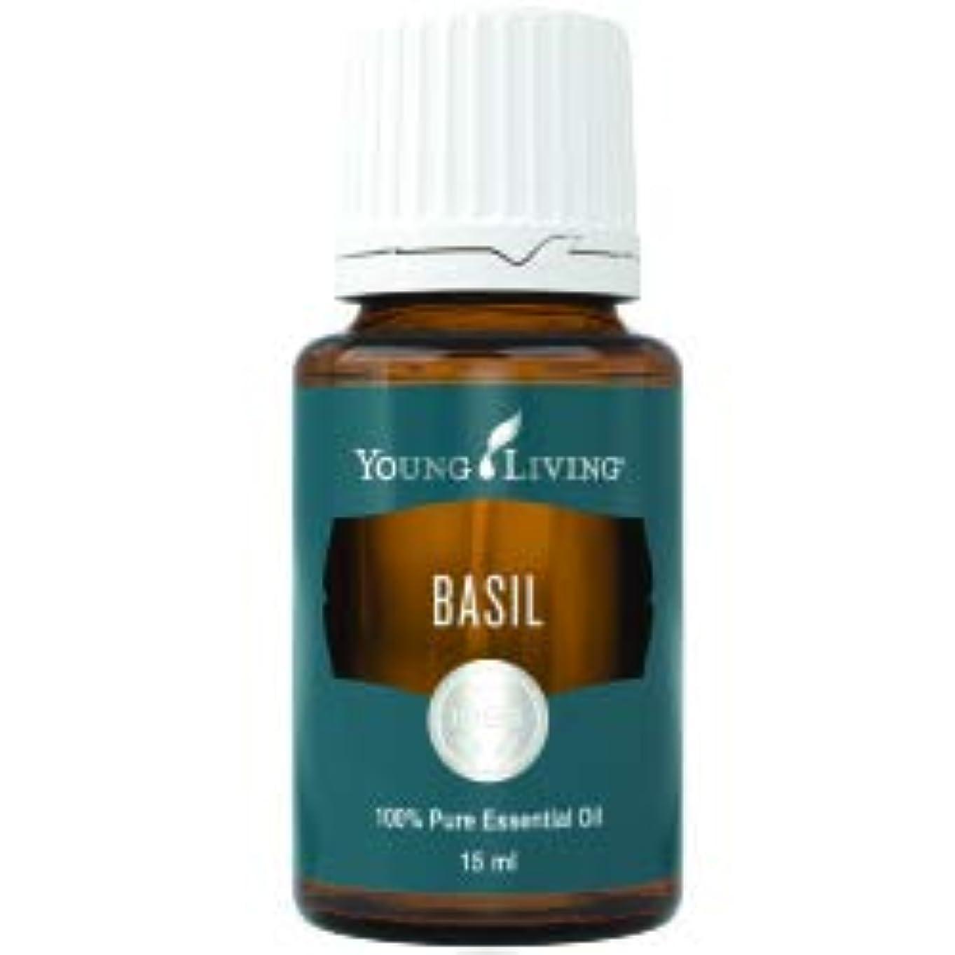行くどちらかビザバジルエッセンシャルオイル15 ml ヤングリビングマレーシア Basil Essential Oil 15 ml by Young Living Malaysia