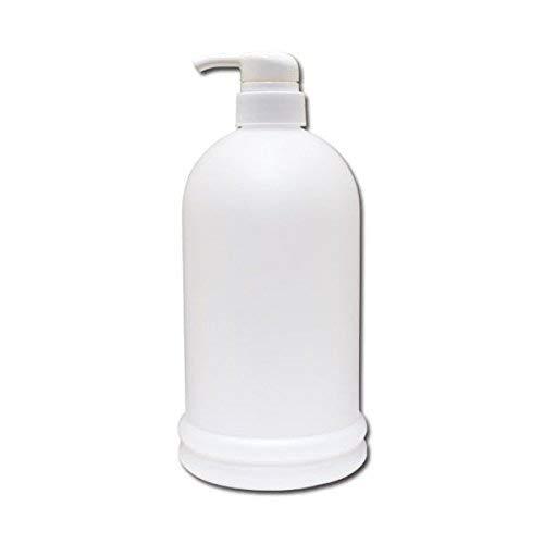 ポンプボトル詰め替え容器1000ml│ソープディスペンサー 業務用シャンプー/コンディショナー/リンス/ボディーソープの小分けに1リットルポンプ容器