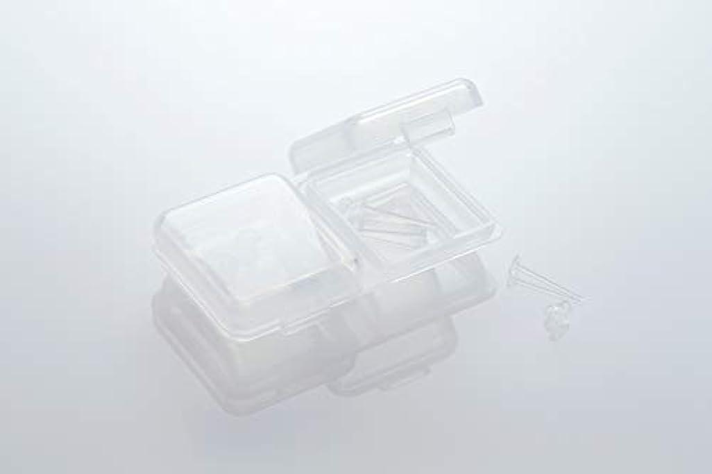 ワードローブホールドオールホスト[ワンダーワークス] WONDERWORKS 医療用樹脂製 シークレットピアス リメイン 金属アレルギーフリー 2ペア W20006