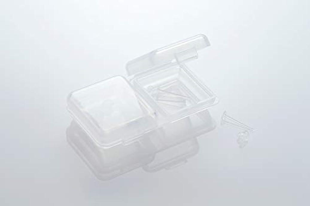 必需品重くするあなたが良くなります[ワンダーワークス] WONDERWORKS 医療用樹脂製 シークレットピアス リメイン 金属アレルギーフリー 2ペア W20006