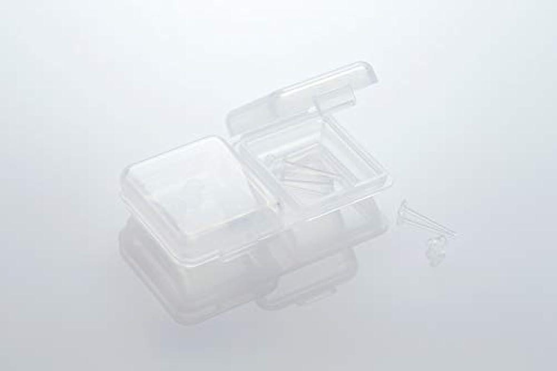 不純マイク意外[ワンダーワークス] WONDERWORKS 医療用樹脂製 シークレットピアス リメイン 金属アレルギーフリー 2ペア W20006