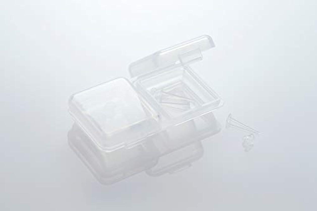 ベルト飢えたトンネル[ワンダーワークス] WONDERWORKS 医療用樹脂製 シークレットピアス リメイン 金属アレルギーフリー 2ペア W20006